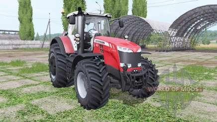 Massey Ferguson 8727 wheel configurations pour Farming Simulator 2017