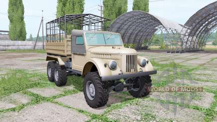GAZ 69 triaxial pour Farming Simulator 2017