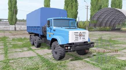 ZIL 4334 6x6 v1.1 pour Farming Simulator 2017
