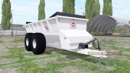 Kuhn Knight SLC 141 ProTwin Slinger pour Farming Simulator 2017