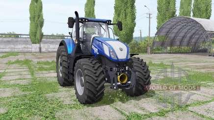 New Holland T7.315 HD Blue Power für Farming Simulator 2017