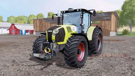 CLAAS Arion 650 twin wheels für Farming Simulator 2015