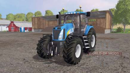 New Holland T8020 4x4 pour Farming Simulator 2015