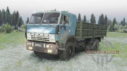 KamAZ 5320 6x6 für Spin Tires