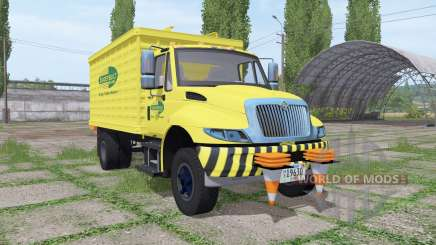 International DuraStar chipper truck pour Farming Simulator 2017