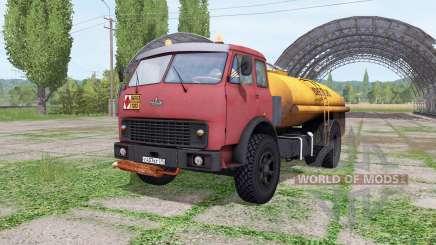 MAZ-500 tanker v2.2 für Farming Simulator 2017