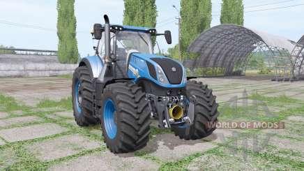 New Holland T7.315 blue für Farming Simulator 2017
