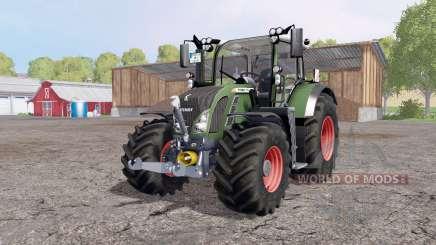 Fendt 718 Vario SCR Profi Plus FL für Farming Simulator 2015