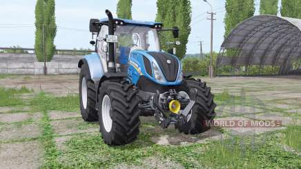 New Holland T6.140 rundumleuchte pour Farming Simulator 2017
