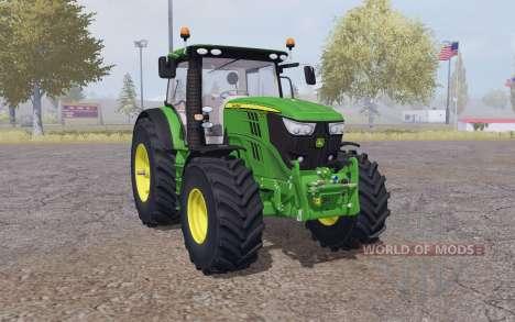 John Deere 6210R interactive control für Farming Simulator 2013