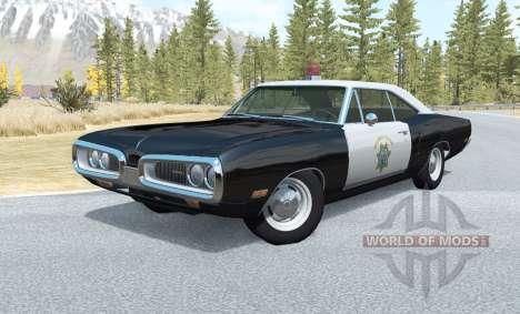 Dodge Coronet California Highway Patrol v1.1 pour BeamNG Drive