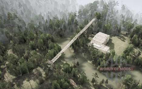 District De Anshan. La Ville Shijie pour Spintires MudRunner