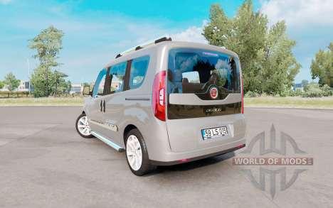 Fiat Doblo (152) 2015 v1.1 pour Euro Truck Simulator 2