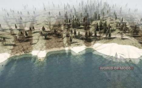 La dure de la taïga 4 - Traversée de la rivière pour Spintires MudRunner