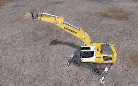 Liebherr A 936 C Litronic pour Farming Simulator 2015