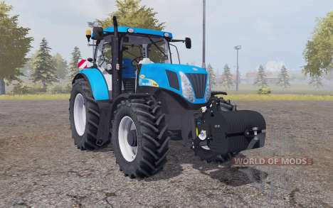 New Holland T7040 weight für Farming Simulator 2013