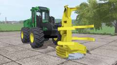 John Deere 643K pour Farming Simulator 2017