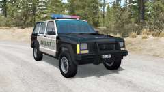 Jeep Cherokee Police skins pack pour BeamNG Drive