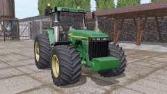 John Deere 8410 v3.0 pour Farming Simulator 2017