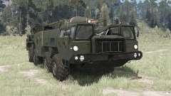 MAZ 5247Г 9К72 Elbrus pour MudRunner