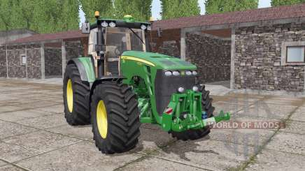 John Deere 8130 real sound pour Farming Simulator 2017
