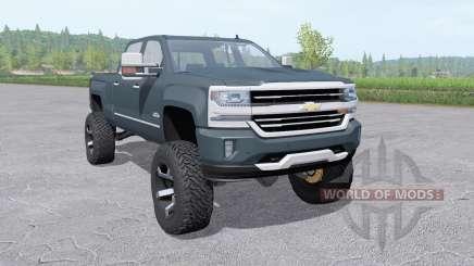 Chevrolet Silverado 1500 High Country 2016 lift für Farming Simulator 2017