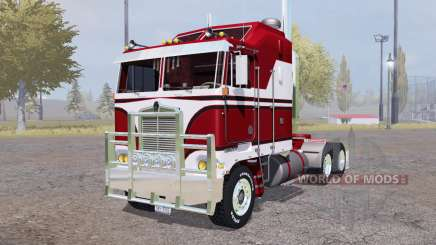 Kenworth K100 red pour Farming Simulator 2013