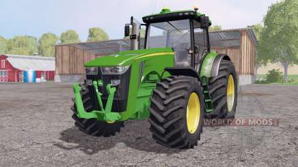John Deere 8360R interactive control pour Farming Simulator 2015