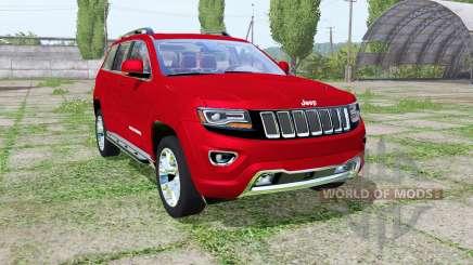 Jeep Grand Cherokee Limited (WK2) 2013 für Farming Simulator 2017