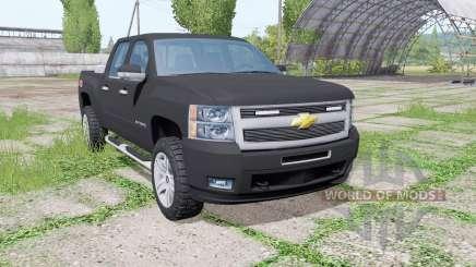 Chevrolet Silverado Z71 (GMT901) Crew Cab v2.0 für Farming Simulator 2017