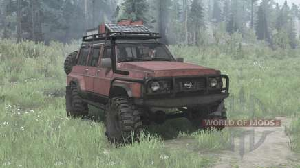 Nissan Patrol GQ 5-door (Y60) für MudRunner