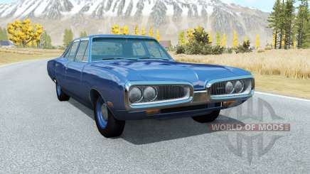 Dodge Coronet sedan (WP41) 1970 v2.2 pour BeamNG Drive