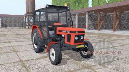 Zetor 6211 realistic smoke pour Farming Simulator 2017
