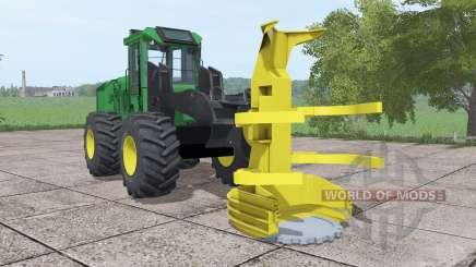 John Deere 643K für Farming Simulator 2017