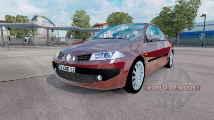 Renault Megane sedan 2006 v1.1 pour Euro Truck Simulator 2