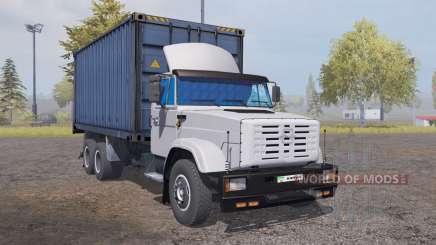 ZIL 6309 conteneur v2.0 pour Farming Simulator 2013