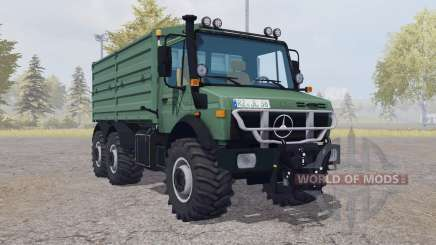 Mercedes-Benz Unimog U2450 L 6x6 v2.0 für Farming Simulator 2013