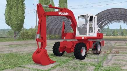 Poclain 60 für Farming Simulator 2017