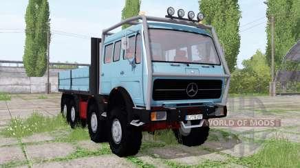 Mercedes-Benz NG 1632 8x8 pour Farming Simulator 2017