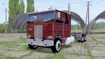 Peterbilt 352 6x6 tractor Cab Over für Farming Simulator 2017