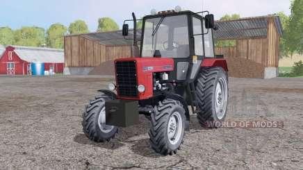 MTZ-82.1 Biélorussie 4x4 pour Farming Simulator 2015