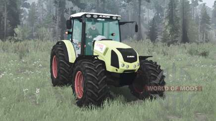 CLAAS Axos 330 pour MudRunner