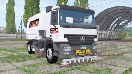 Mercedes-Benz Actros (MP2) balayeuse für Farming Simulator 2017