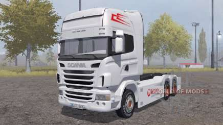 Scania R-series hooklift pour Farming Simulator 2013