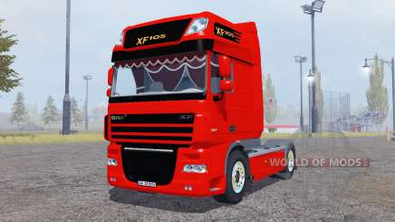 DAF XF105 FT Super Space Cab pour Farming Simulator 2013