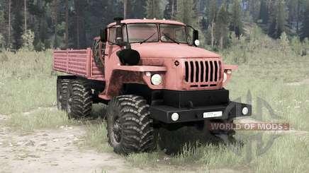 Ural 4320-41 6x6 für MudRunner