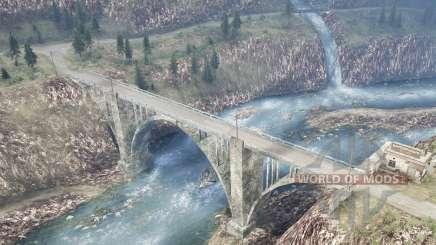 La luna 11 - Dangerous Roads 2 für MudRunner
