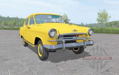 GAZ 21 Volga Taxi 1956 v1.3 pour Farming Simulator 2017