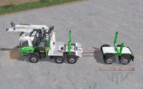 Tatra Phoenix T158 timber truck pour Farming Simulator 2017