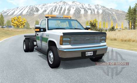 Gavril D-Series flatbed pour BeamNG Drive